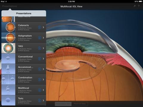 Echo for iPad Apps: IOL Simulator and Vision Simulator