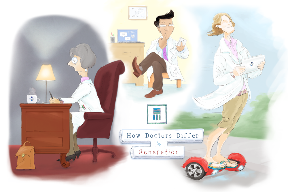 How Doctors Differ by Generation