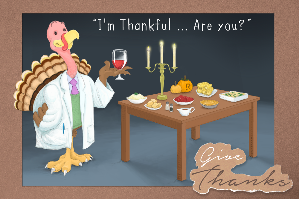 Top Five Things Doctors Are Thankful For This Year