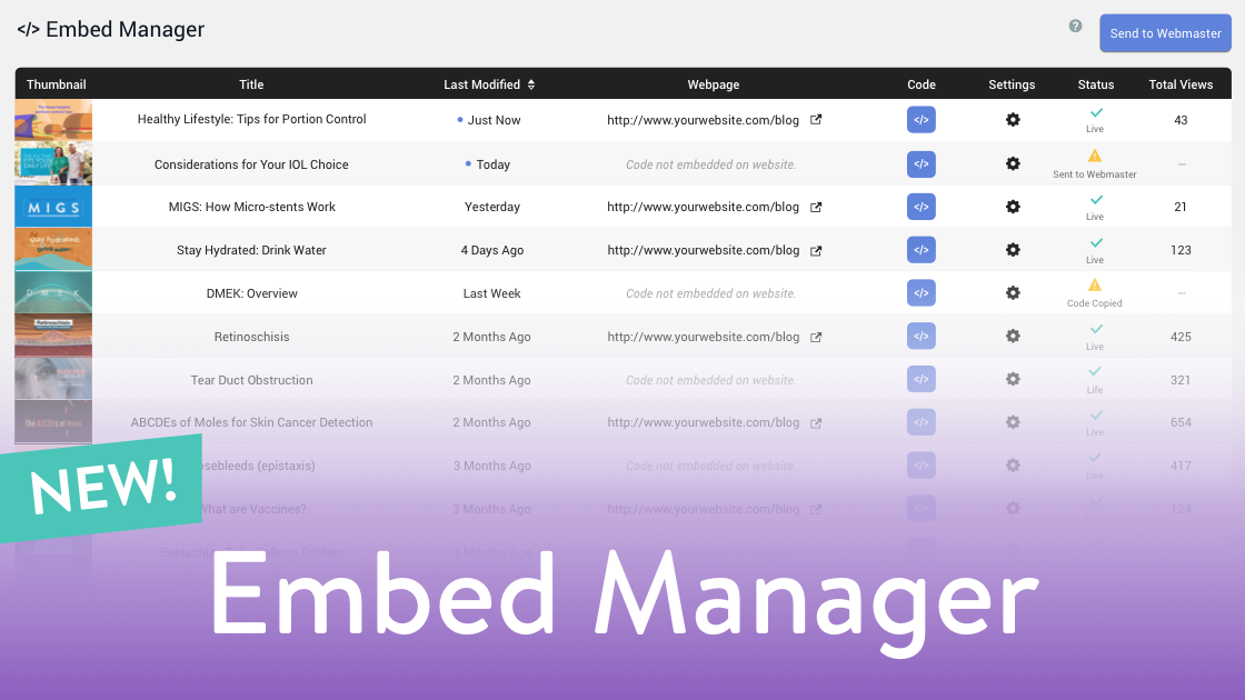 Website Videos Now Easier Than Ever with Embed Manager
