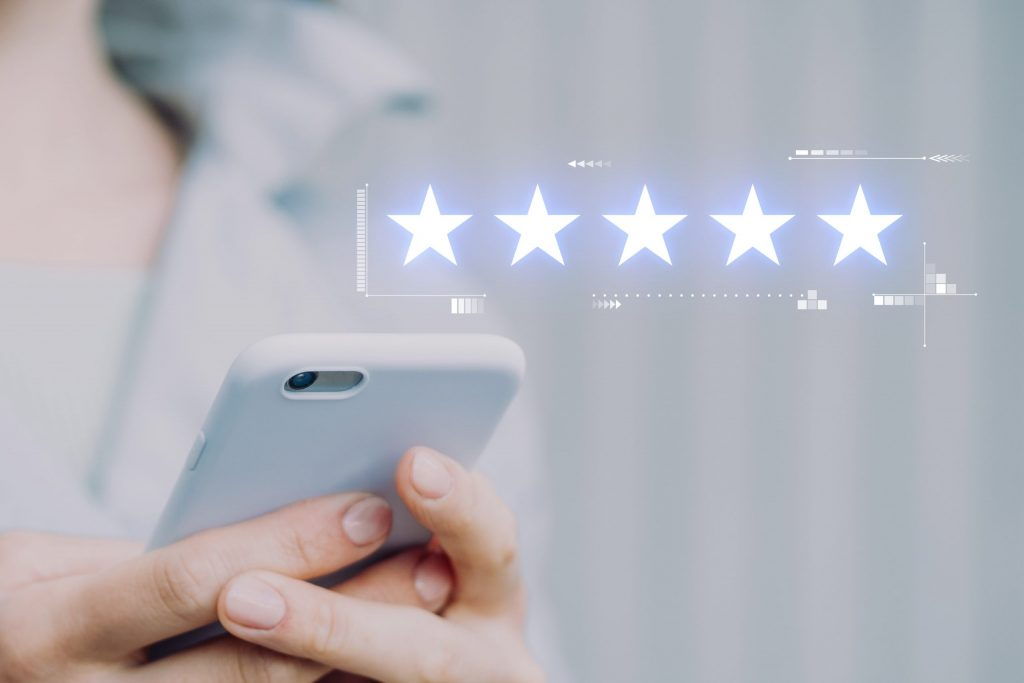 Online reviews, online ratings